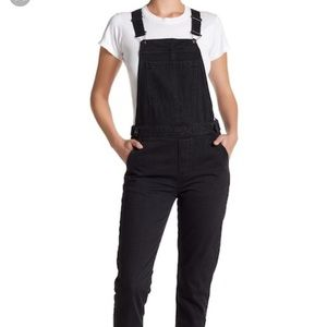 buy sale hot-selling cheap 2019 original Top Shop Raw Hem Straight Leg Overalls